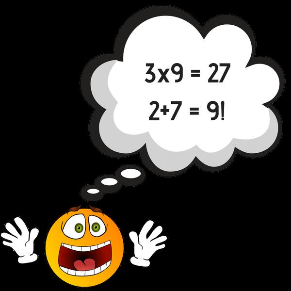 9x table fact
