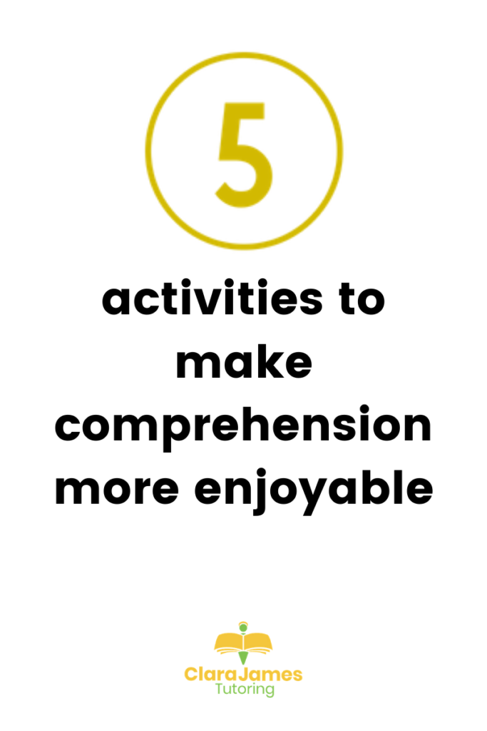 comprehension tasks