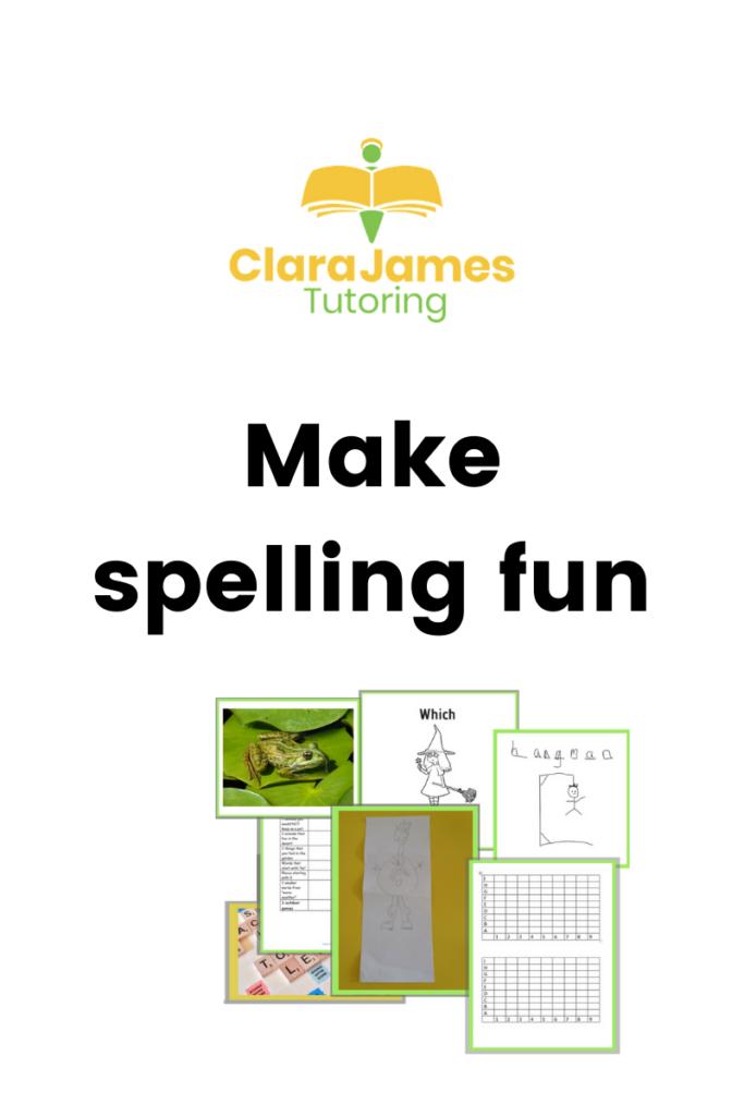 support weekly spellings