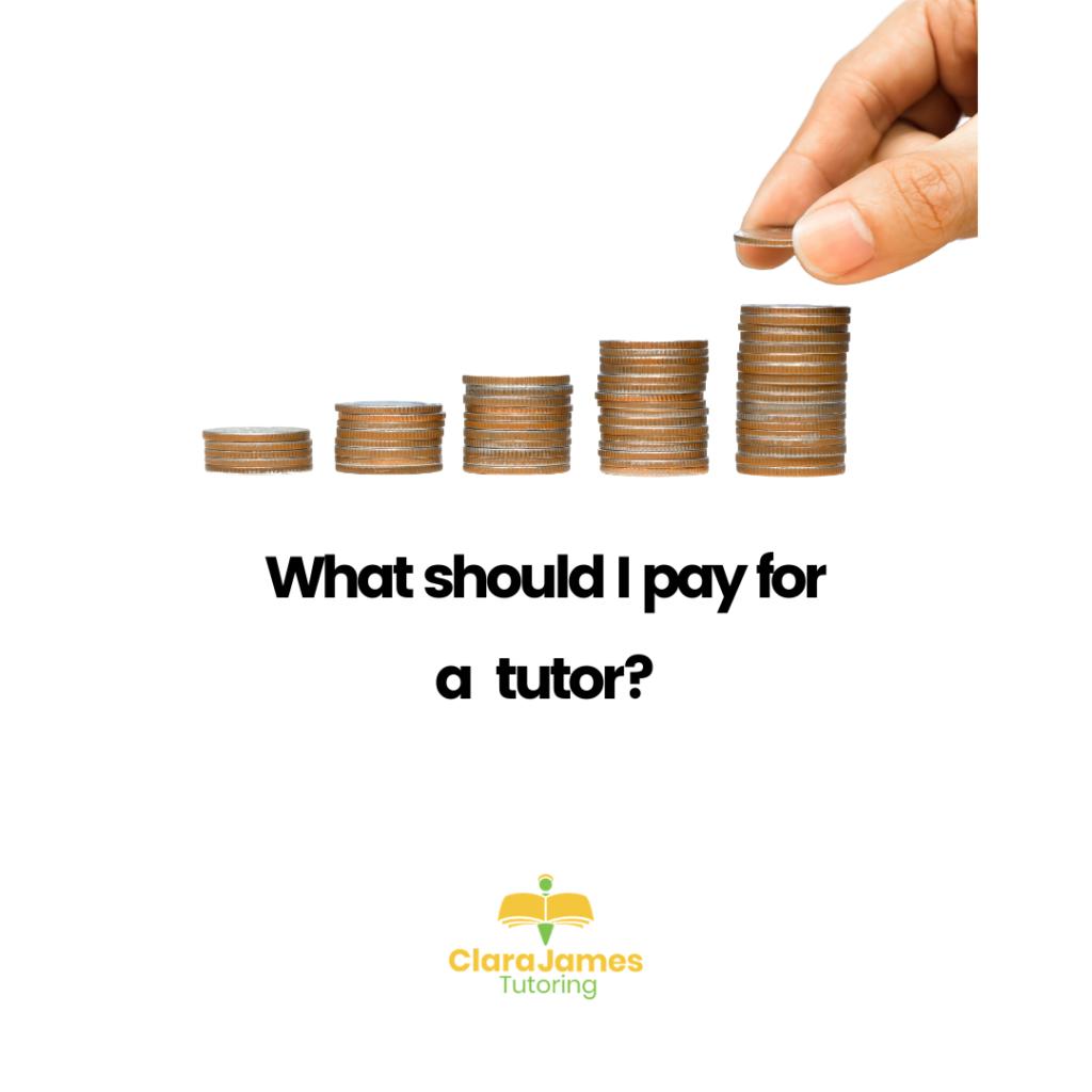 What do tutors cost?
