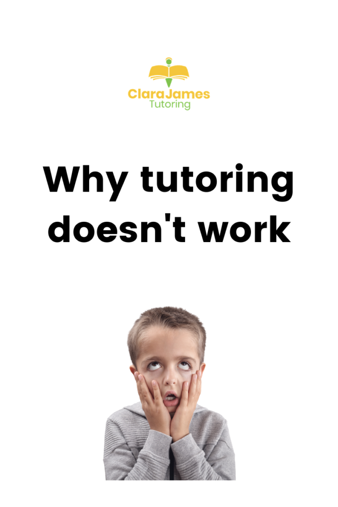 Don't get a tutor