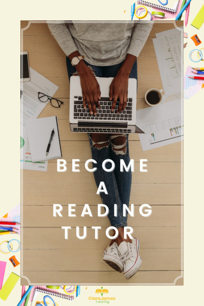 Thinking of becoming a reading tutor?