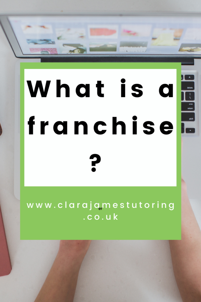 wondered what a franchise is?