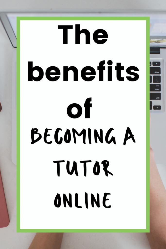 Start tutoring online