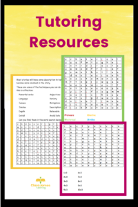 Resources for tutoring