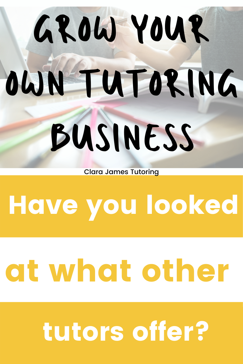 What other tutoring companies offer?
