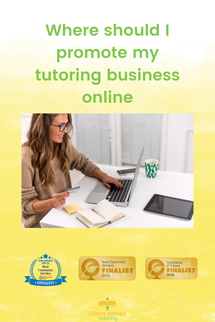 Promote your tutoring business online