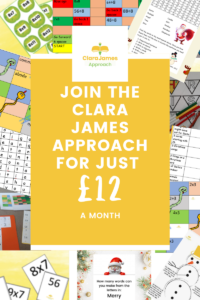 Be inspired by the Clara James Approach for just £12/month