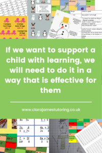 Help a child learn