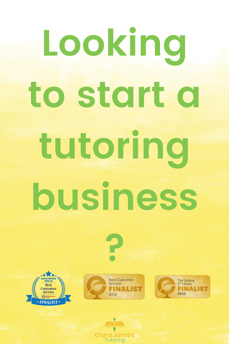 Looking to start a tutoring business