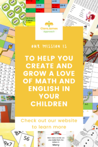 help your child to find a love of math and English