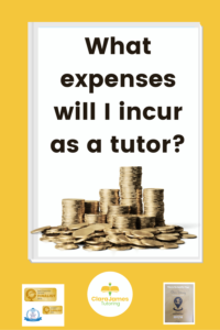 As a tutor what costs will I entail?