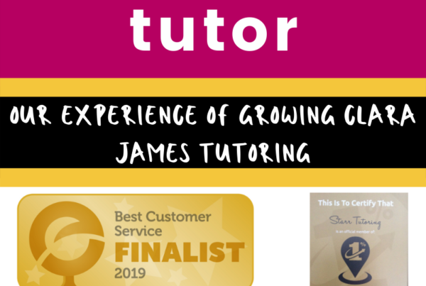 A day in my life as a tutor