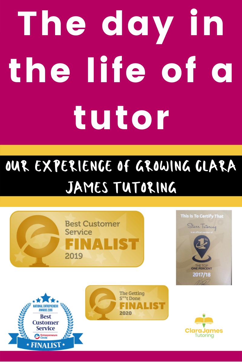 Life as a tutor