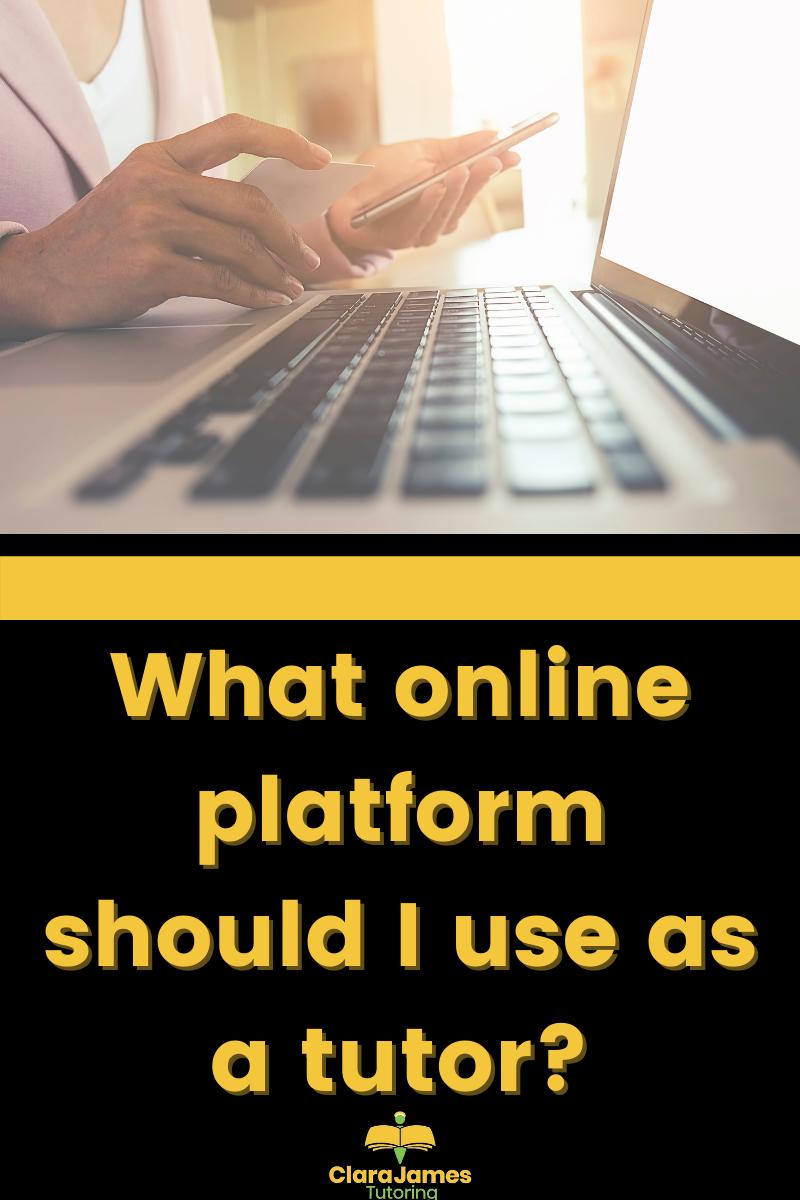 What online platform should I use as a tutor?