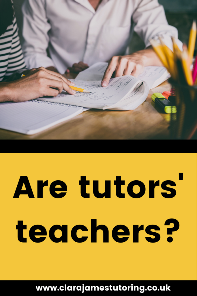 Is every tutor a qualified teacher?