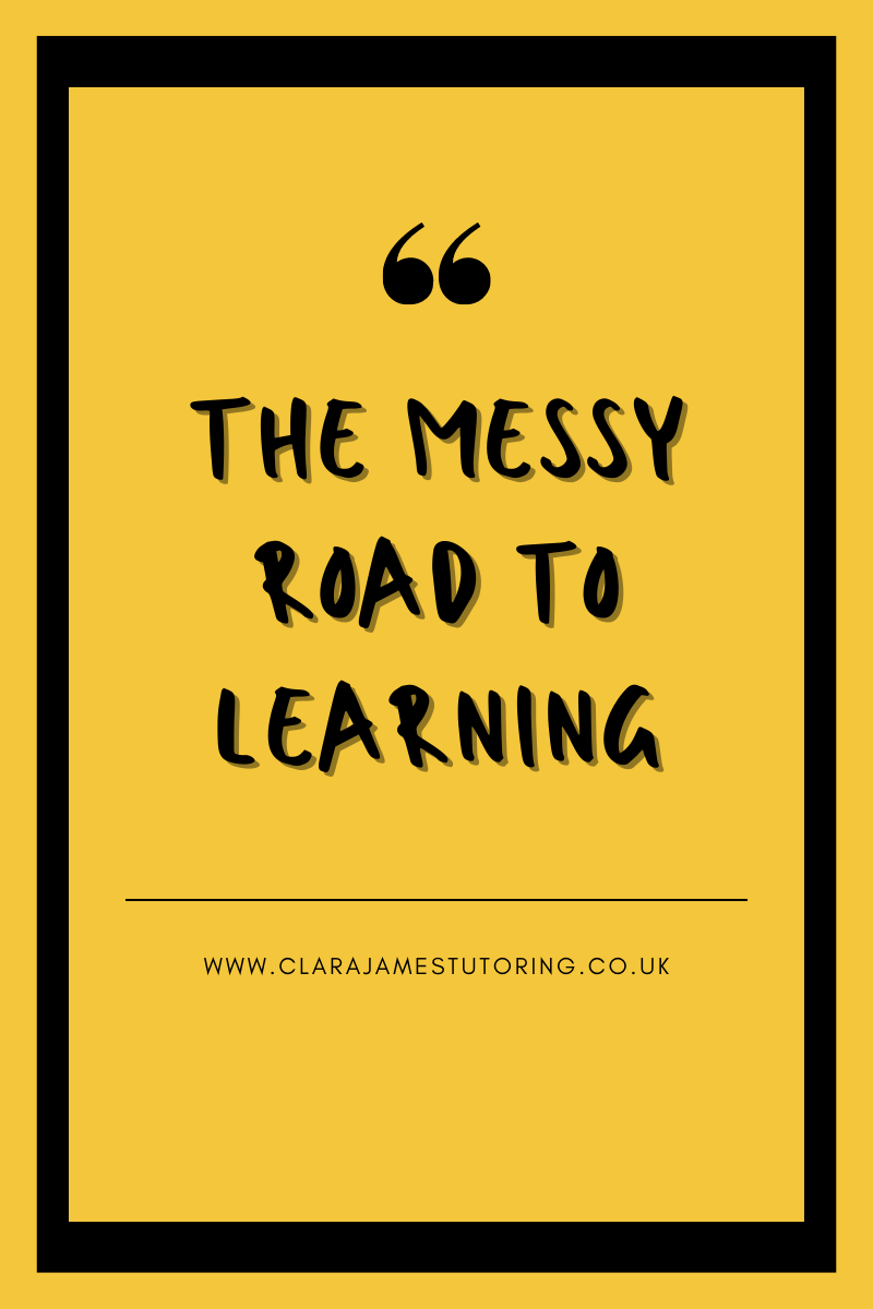 The messy road to learning