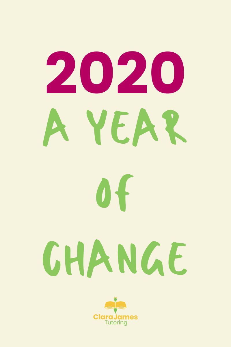 2020; a year of change