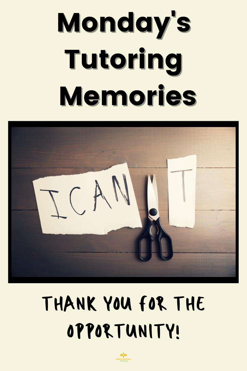 Monday's Memories – complete change