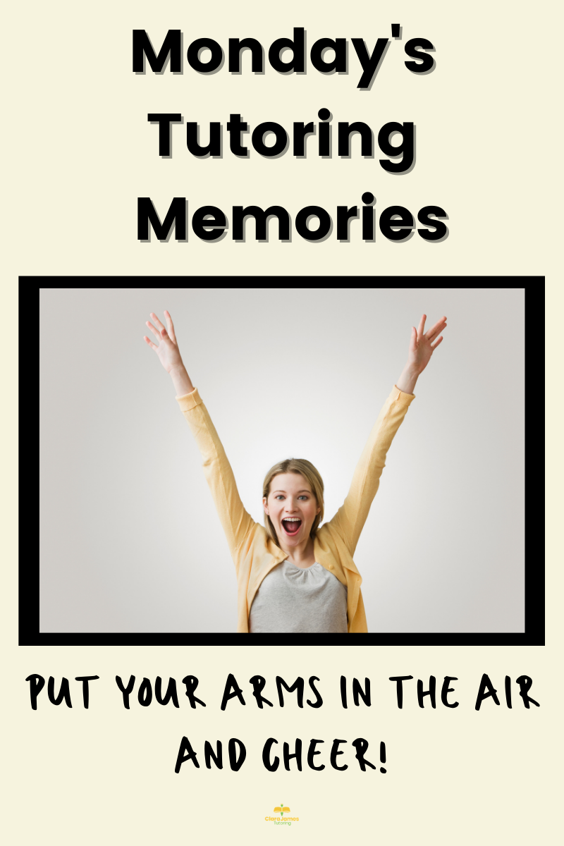Wave your arms in the air and cheer!