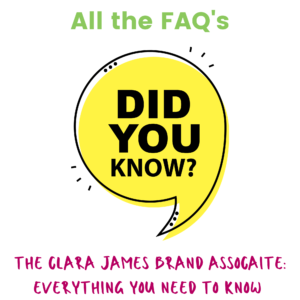 Everything you need to know about becoming a Clara James Brand Associate