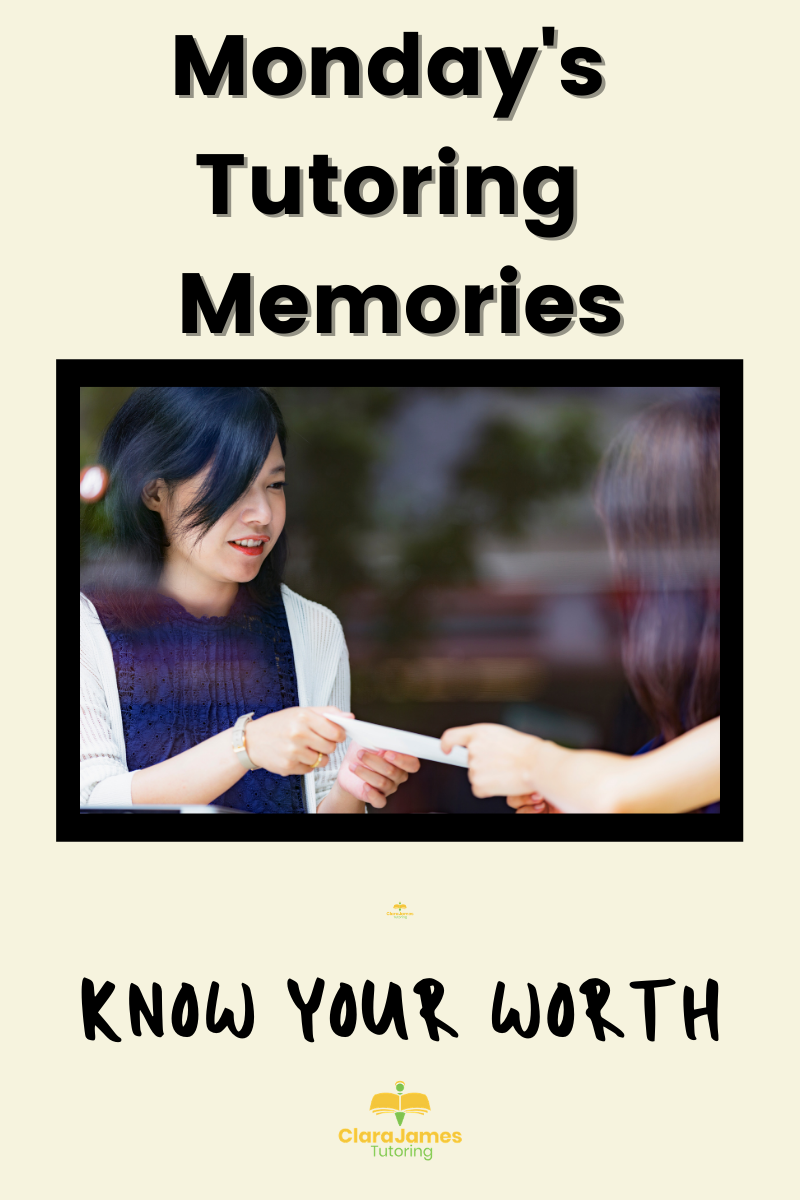 Monday's Memories – know your worth