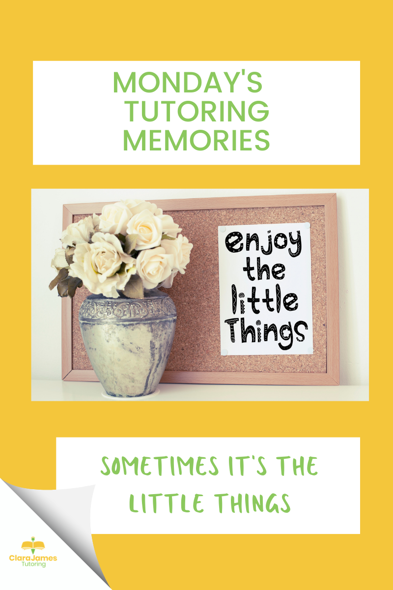 Monday's Memories – The little things