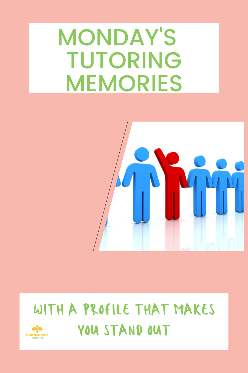 Monday's Memories – stand out