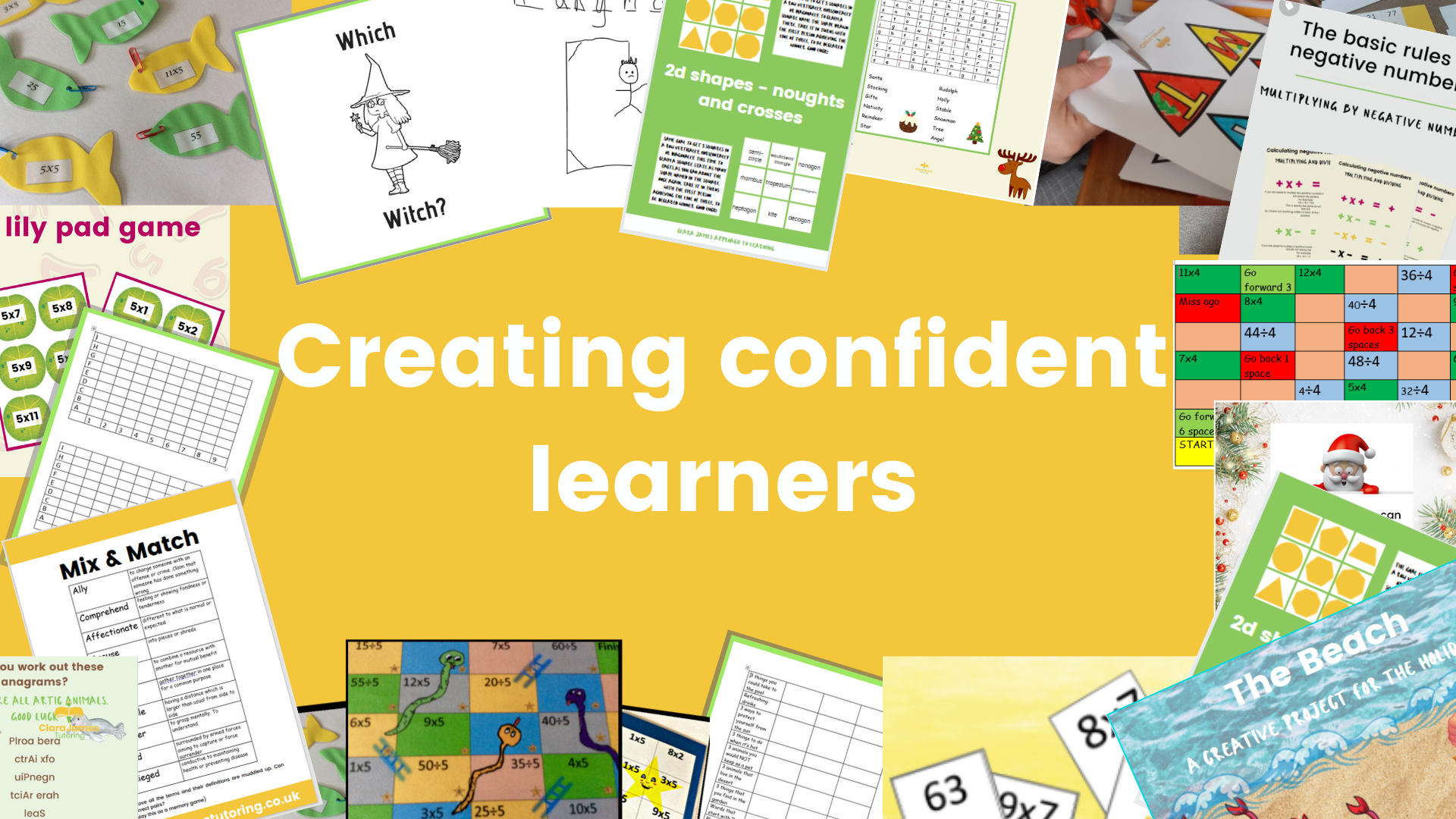 Creating confident learners